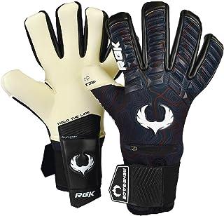 Renegade GK Eclipse Professional Soccer Goalie Gloves with Microbe-Guard (Sizes 7-12, Level 5) Pro-Tek Fingersaves & 4+3MM...