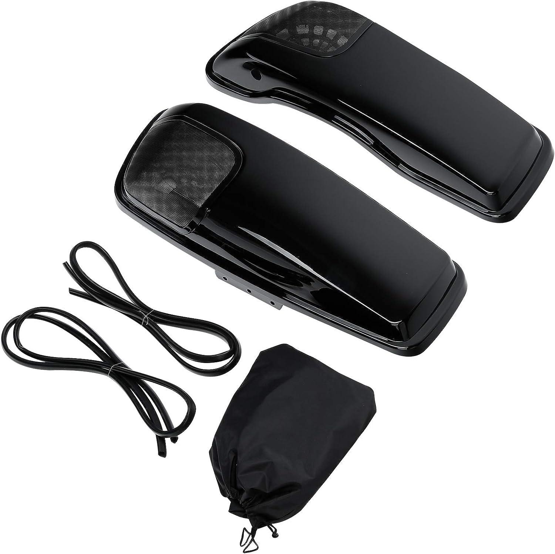 Max 53% OFF XMT-MOTO Saddlebag Speaker Lid Kit o 5 popular with Bra Cut