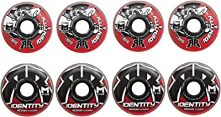 Rink Rat Wheels 80mm / 76mm Hilo 78A Identity XX Red Inline Indoor Roller Hockey