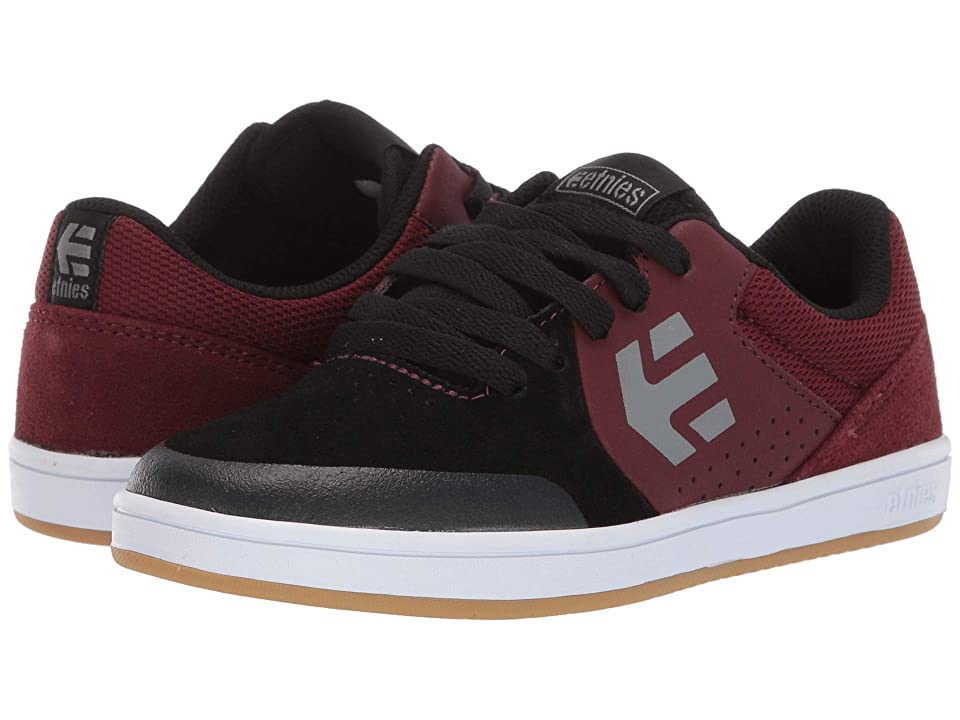 etnies Kids Marana (Toddler/Little Kid/Big Kid) (Maroon/Black/White) Boys Shoes