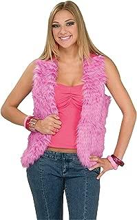 Forum Novelties Women's 60's Mod Revolution Groovy Pink Vest Costume Accessory