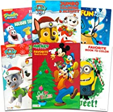 Christmas Coloring Books Super Set for Kids Toddlers (6 Holiday Christmas Activity Books Filled with Games, Puzzles, Mazes and More)