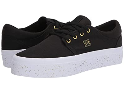 DC Trase Platform TX (Black/Gold 2) Women