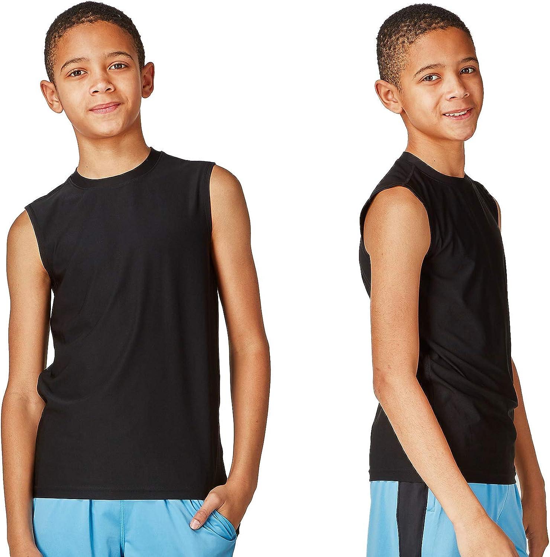 DEVOPS Boys 2 Pack Baselayer Many popular brands Gorgeous Top Sleeveless Workout Tank