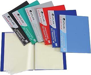 Clear File A4 60 Pocket Asst.