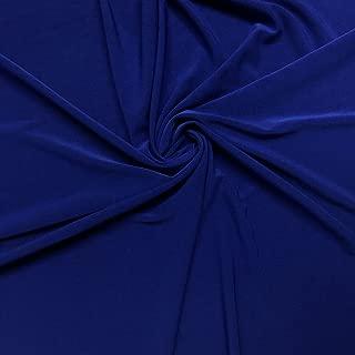 ITY Fabric Polyester Lycra Knit Jersey 2 Way Spandex Stretch 58