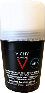 Vichy Homme Deo Anti Perspirant Soothing Effect, 50 ml