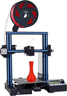 GEEETECH A10 3D Printer, Fast-Assembled Aluminum Profile DIY kit, with Open Source firmware, Breaking-resuming, High Adhesion Building Platform, Stable Movements on V-Slot Rails, 220×220×260m