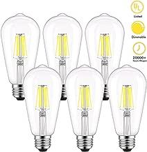 Best led edison bulb white light Reviews