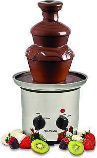 comprar comparacion Mx Onda MX-FC2770 Fuente de chocolate, Acero Inoxidable, Negro