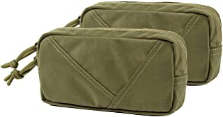 OneTigris Mini Tactical Pack Hook-Backed EDC Pouch with Dual YKK Snag-Free Zippers
