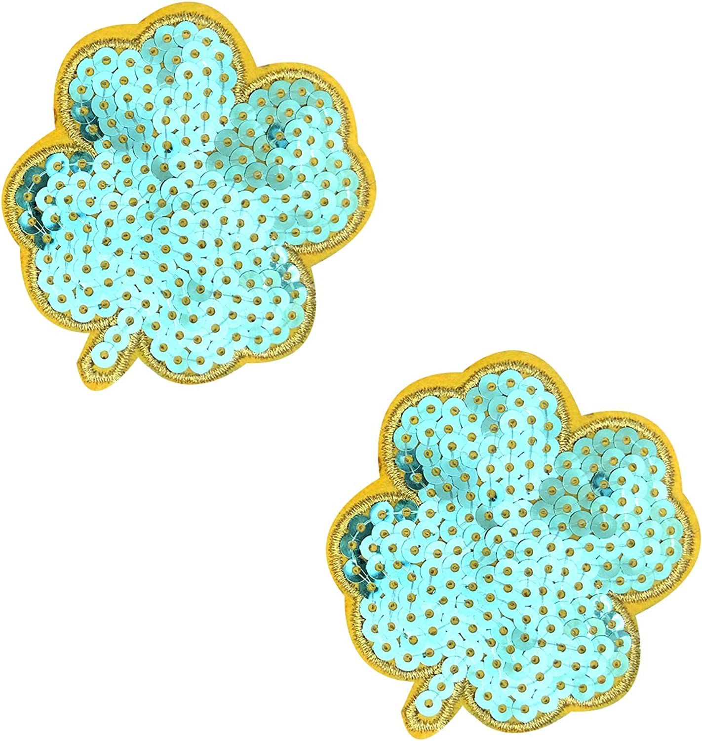 Neva Nude Sequin Nifty Nipztix Pasties Nipple Covers, Medical Grade Adhesive, Waterproof, Made in USA, With Refills 2 Wears