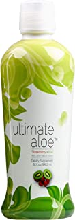 Ultimate Aloe, Strawberry Kiwi Flavor, Healthy Digestive Tract, Strong Immune System, Nutrient Absorption, Promotes Normal...