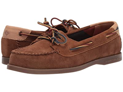 Sperry A/O Venice Varsity Suede (Tan) Women
