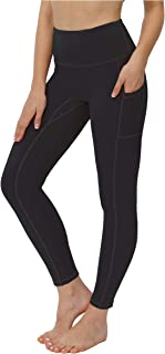 OXZNO High Waisted Yoga Pants for Women Lightweight Workout Running Compression Leggings with Inner Pocket for Women