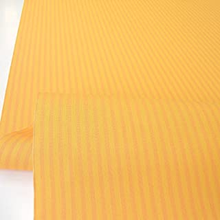 TOLKO Sonnenschutz Markisen-Stoffe als Meterware Zum Nähen mit UV-Schutz 50 | Wasserdicht, Extra Langlebig - Ohne Ausbleichen Orange Terra Gestreift