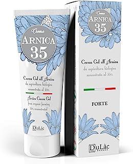 Crema Gel Arnica Forte 75 ml Dulàc Arnica 35, Made in Italy - Gel Crema Arnica con estratti di Arnica Montana Bio, Eucalip...