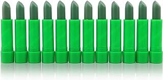 12pc Princessa ALoe Mood Lipstick Green Color #L93A by Princessa