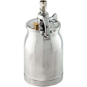 Fuji Spray 2095 Fuji 2095-1Qt Bottom Feed New Design 1QT Cup Assembly, Silver