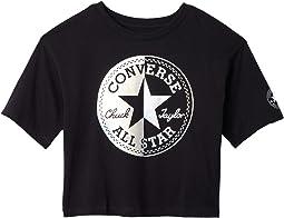 Metallic Chuck Patch Boxy T-Shirt (Big Kids)