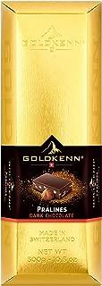 Goldkenn Gold Bar, Dark Chocolate with hazelnut pieces-10.5 oz
