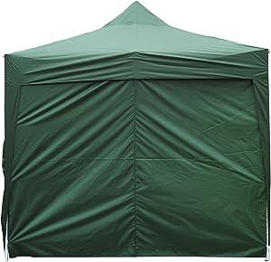 Outsunny Tonnelle Barnum Tente de réception Pliante 3 x 4,5 m Vert + Sac de Transport