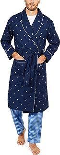 Nautica Men's Long Sleeve Lightweight 100% Cotton Shawl...