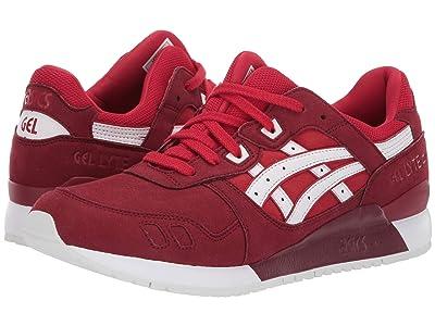 ASICS Tiger Gel-Lyte III (True Red/True Red) Men