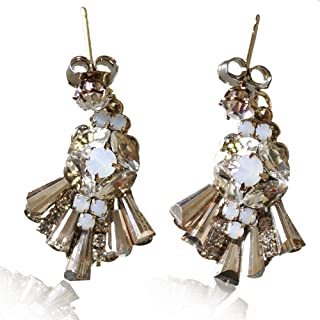Crystal Earrings for Women Dangle - Women Girls Drop...