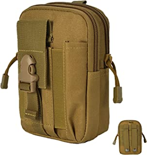 Vaupan Tactical EDC Pouch, Molle Utility Pouch Gadget Organizer Phone Holder Waist Pack IFAK Bag Smartphone Pouch Tool Hol...
