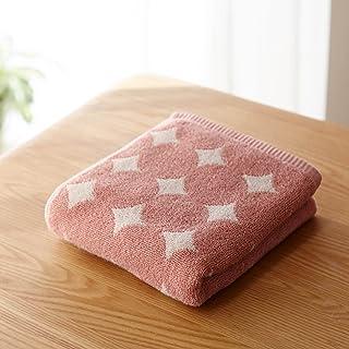 [ベルメゾン] バスタオル 速乾 ふんわり 約34×120cm ローズピンク(サークル)ハンガーに干せるバスタオル