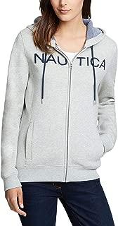 Women's Signature Logo Full Zip Hoodie Sweatshirt Jacket