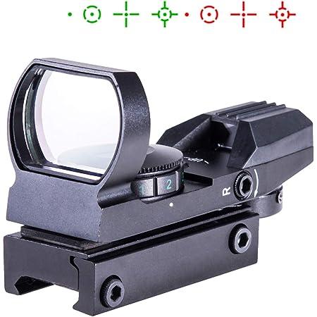 Taktische Holographische Projizierten Reflex Rot//Grün 4 Fadenkreuze Red Dot
