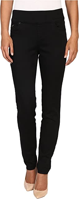 D-Lux Denim Pull-On Slim Jegging in Ebony