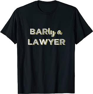 Future Lawyer Bar Exam Taker Pun T-Shirt