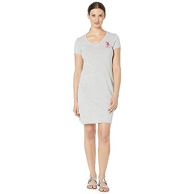 U.S. POLO ASSN. Sneaker Dress (Light Heather Grey) Women