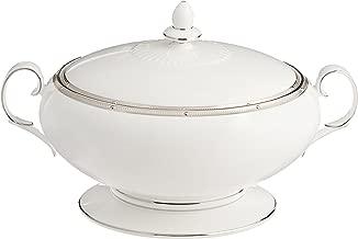 Noritake Rochelle Platinum 70-Ounce Covered Vegetable Bowl