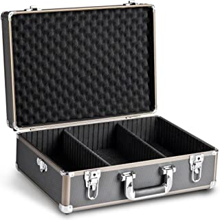 Mantona fotografia walizka Basic M, czarny/metaliczny