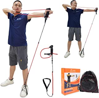 Huanggui Archery Trainer Band Training - Portable Bow Riser Handle - 9 to 19 lbs Tension Adjustment - Professional Archery...