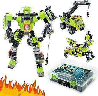JITTERYGIT Robot STEM Juguete   3 en 1 divertido juego creat