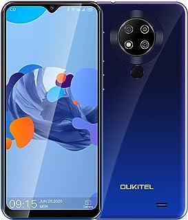 【進化版】 OUKITEL C19 PRO Android 10 4G SIMフリースマホ 4GB/64GB 1300万高画素 トリプルカメラ 6.49インチ 4000mAh 大容量バッテリー 顔認証 指紋認識 1年間保証付き ドコモ/ソフトバ...