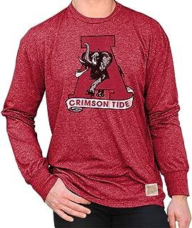Elite Fan Shop NCAA Mens Retro Long Sleeve Shirt Soft