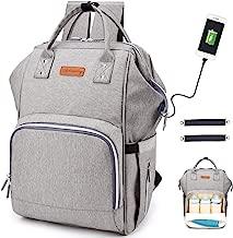 Diaper Bag Backpack, Multifunction Travel Back Pack with USB Charging Port
