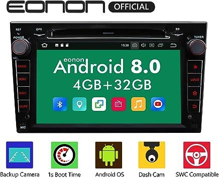"eonon Android 8 fit Opel Antara Astra Corsa Meriva Vectra Zafira 2007 2008 17,8cm 7"" LCD 2Din Indash Car Digital Audio Video Stereo Autoradio Touchscreen DVD GPS Bluetooth FM RDS USB Headunit GA9156A"