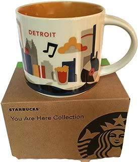 Best detroit starbucks mug Reviews