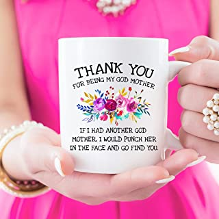 Thank You For Being My Godmother, Fairy Godmother, Godmother Coffee Mug, Godmother Mug Gift, Baptism Gift, Coffee Mug, Funny Godmother, Cute