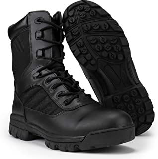 Tactical Combat Boots with CoolMax Lining (Black)