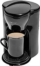 Clatronic KA 3356 1 koffiezetapparaat, ruimtebesparend ontwerp (ideaal voor onderweg), permanent nylonfilter, automatische...