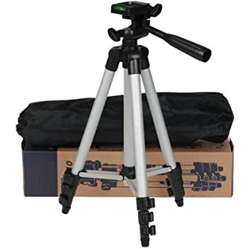 Memore Tripod-3110 40.2 Inch Portable Camera Tripod with Three-Dimensional Head & Quick Release Plate for Canon Nikon Sony Cameras Camcorders
