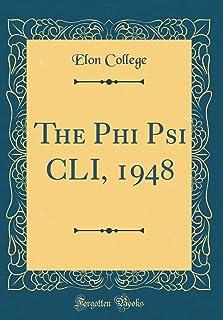 The Phi Psi CLI, 1948 (Classic Reprint)